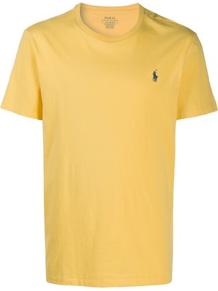 Polo Ralph Lauren Plain Yellow T-Shirt
