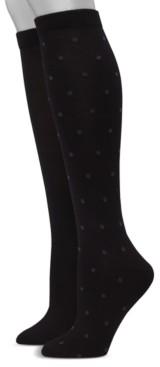 Hanes Women's 2pk Knee-High Socks