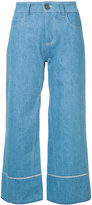 Vionnet cropped wide leg jeans - women - Cotton - 40