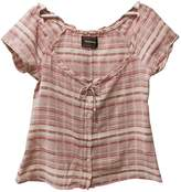 Reformation Pink Cotton Top for Women