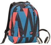 7 For All Mankind Backpack SEVEN THE DOUBLE face - OUTLINE - with stereo headphones reversible school student by Seven