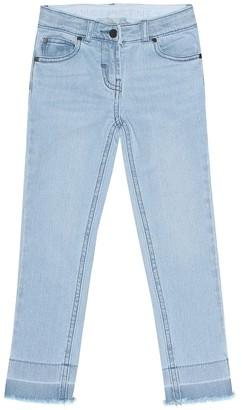 Stella McCartney Kids Stretch cotton skinny jeans
