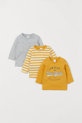 H&M 3-Pack Cotton Tops