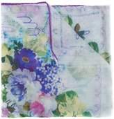 Etro floral print sheer scarf