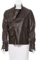 Haider Ackermann Leather Moto Jacket