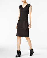 Bar III Cap-Sleeve Sweater Dress, Only at Macy's