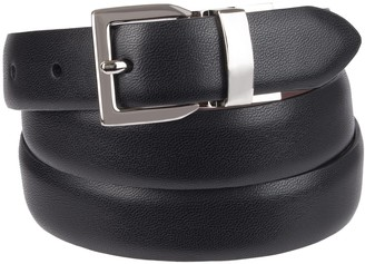 Chaps Women's Plus Size Reversible Belt with Stretch Technology