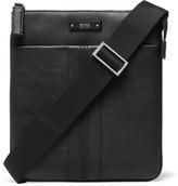 HUGO BOSS Leather Messenger Bag