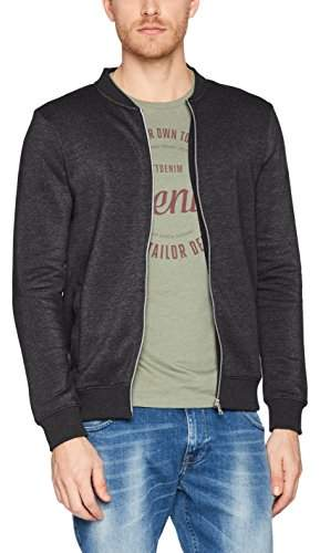 68106645c Men's Nos Bomber Jacket Sweatshirt, (Black 2999), XX-Large