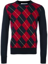 Comme des Garcons checked pattern pullover - men - Acrylic/Wool - XL