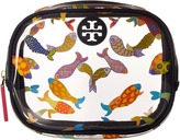 Tory Burch Fish Round Cosmetic Case Cosmetic Case