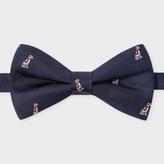 Paul Smith Men's Navy 'Dalmatian' Motif Silk Bow Tie