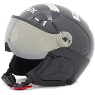 KASK Chrome Goggle-visor Ski Helmet - Black Silver