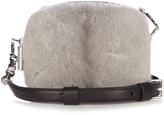 Christopher Kane Mink-fur and leather cross-body bag