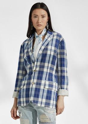 Ralph Lauren Ruthie Cotton Madras Jacket