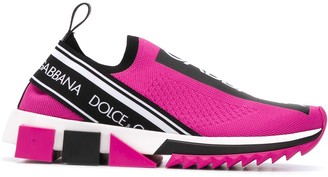 Dolce & Gabbana Sorrento stretch-mesh sneakers