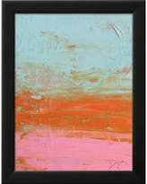 Art.com 'Beach Daze I' by Beverly Dyer Framed Painting Print