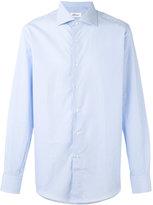 Brioni curved hem shirt - men - Cotton - 44