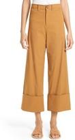 Sea Women's Cuffed Cotton Blend Pants