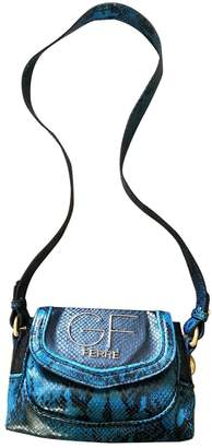Gianfranco Ferre Blue Leather Handbags