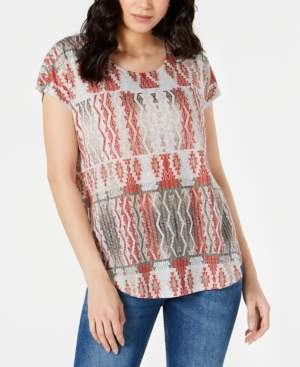 Style&Co. Style & Co Petite Short-Sleeve Dolman T-Shirt, Created for Macy's