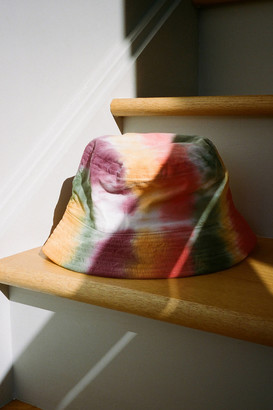 Urban Outfitters Aura Dyed Corduroy Bucket Hat