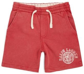 Ralph Lauren Kids Logo Emblem Shorts (5-7 Years)