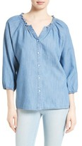 Soft Joie Women's Scarlina Chambray Blouse