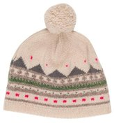 Bonpoint Girls' Wool Patterned Beanie