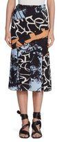 Proenza Schouler Silk Midi Skirt
