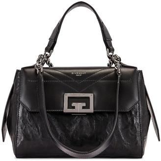Givenchy Small ID Flap Bag in Black | FWRD