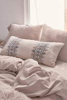 Urban Outfitters Nadia Sherpa Embroidered Body Pillow