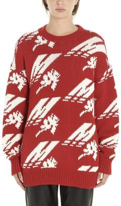 MSGM Intarsia Crewneck Sweater