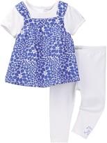 Absorba Popover Tunic & Legging Set (Baby Girls)