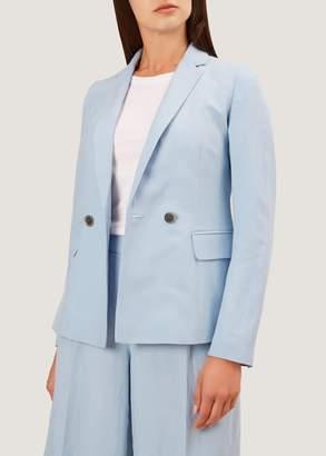 Hobbs Jade Silk Linen Blend Jacket