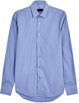 Lanvin Blue Cotton Shirt