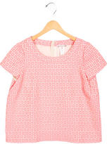 Bonpoint Girls' Boxy Patterned Top