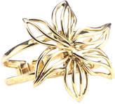 Oscar de la Renta Women's Light Gold Graphic Lily Bracelet