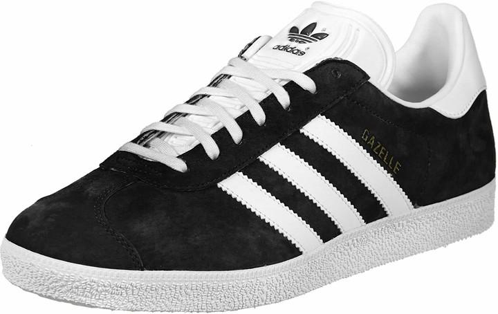 Adidas Gazelle Black/ White Mens | Shop
