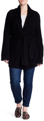 Naked Cashmere Queen Cashmere Cardigan (Plus Size)