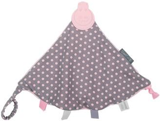 Kalencom Cheeky Chompers Polka Dot 2-in-1 Teether and Sensory Blanket