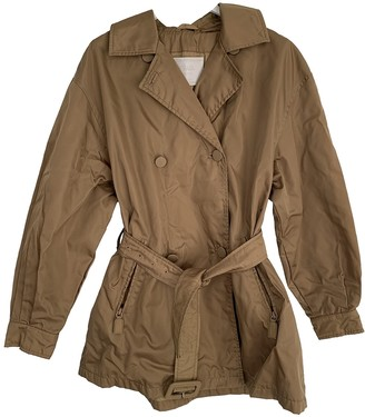 Prada Camel Trench Coat for Women Vintage