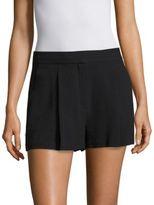 Theory Tohni Rosina Crepe Shorts