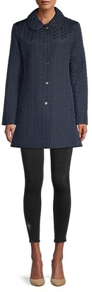 Kate Spade Chevron Quilted Coat