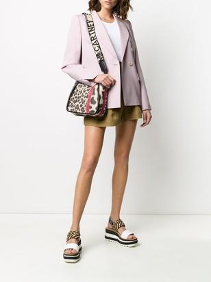 Stella McCartney Leopard Print Shoulder Bag