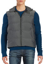 Michael Kors Hooded Quilted Puffer Vest