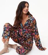 LOFT Botanical Garden Pajama Set
