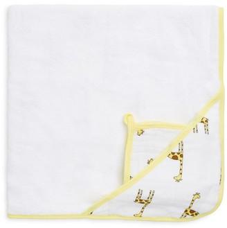 Aden Anais Cotton Muslin Hooded Towel Set