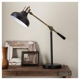 Threshold Crosby Schoolhouse Desk Lamp - Ebony Includes CFL Bulb)
