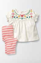 Toddler Girl's Mini Boden Summer Top & Leggings Set